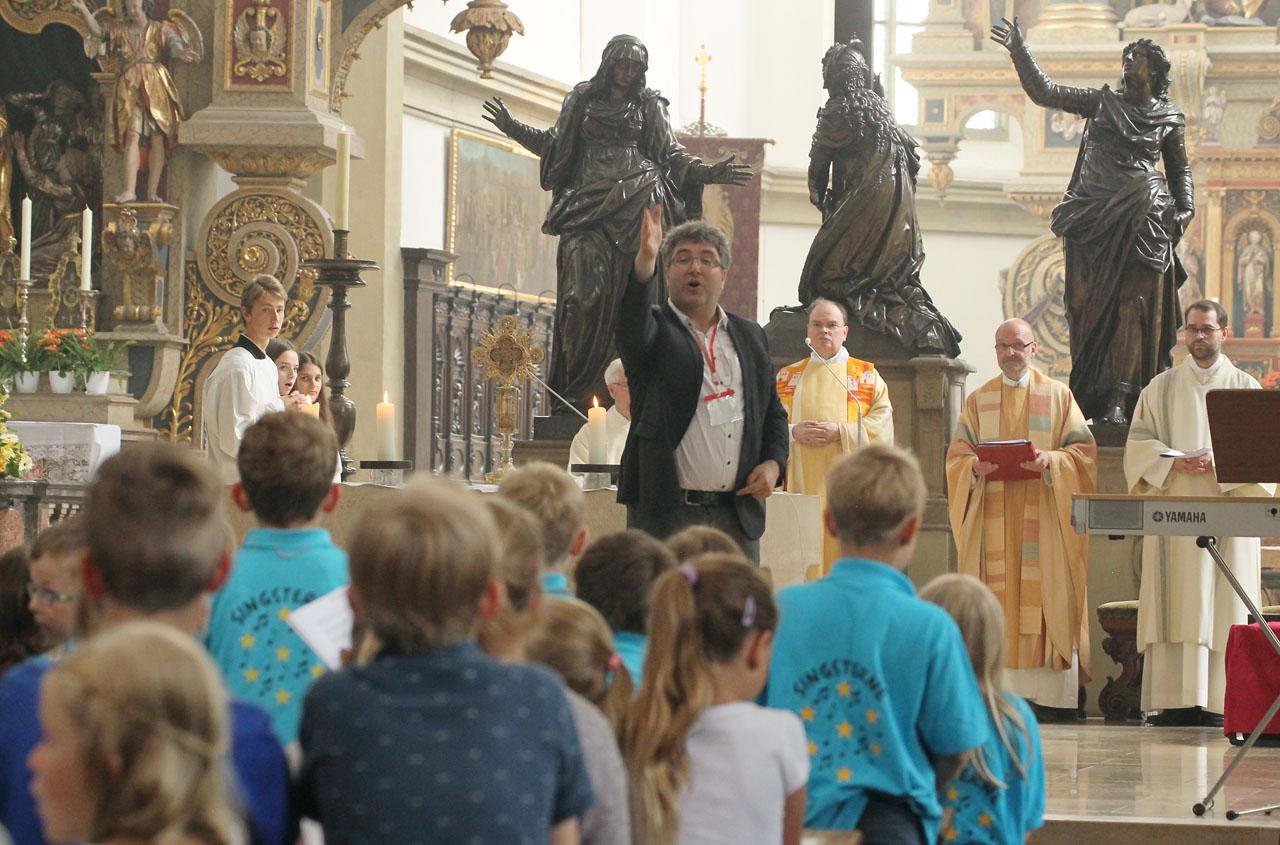 bfecd9cfb0 Ulrichswoche (Donnerstag, 12. Juli 2018 10:14:00) / Bistum Augsburg ...