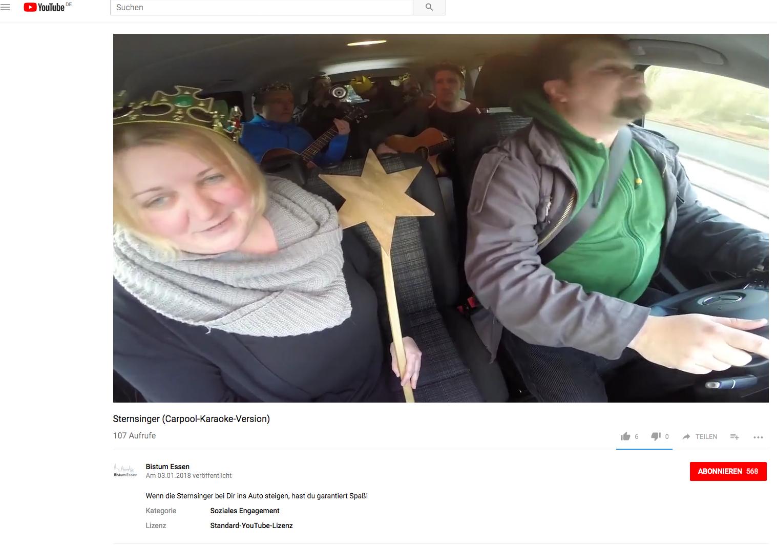 Sternsinger-Rap im Taxi zieht Kreise in sozialen Netzwerken ...