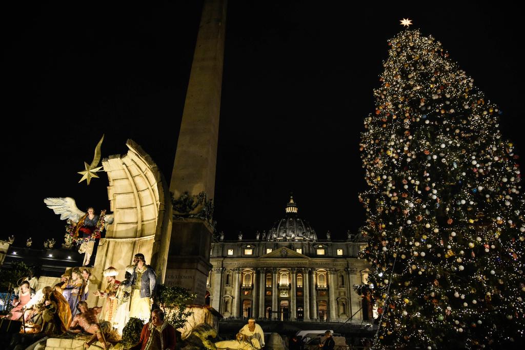 Weihnachtsbaum Herkunft.Vatikanischer Weihnachtsbaum 2018 Stammt Aus Nordostitalien