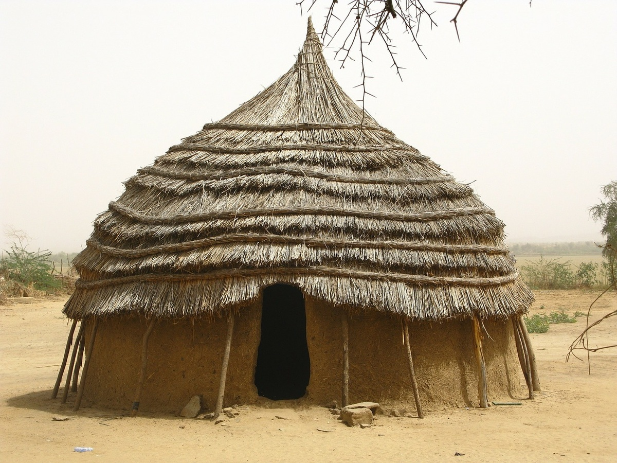 Hütte in Afrika (Foto: gem)