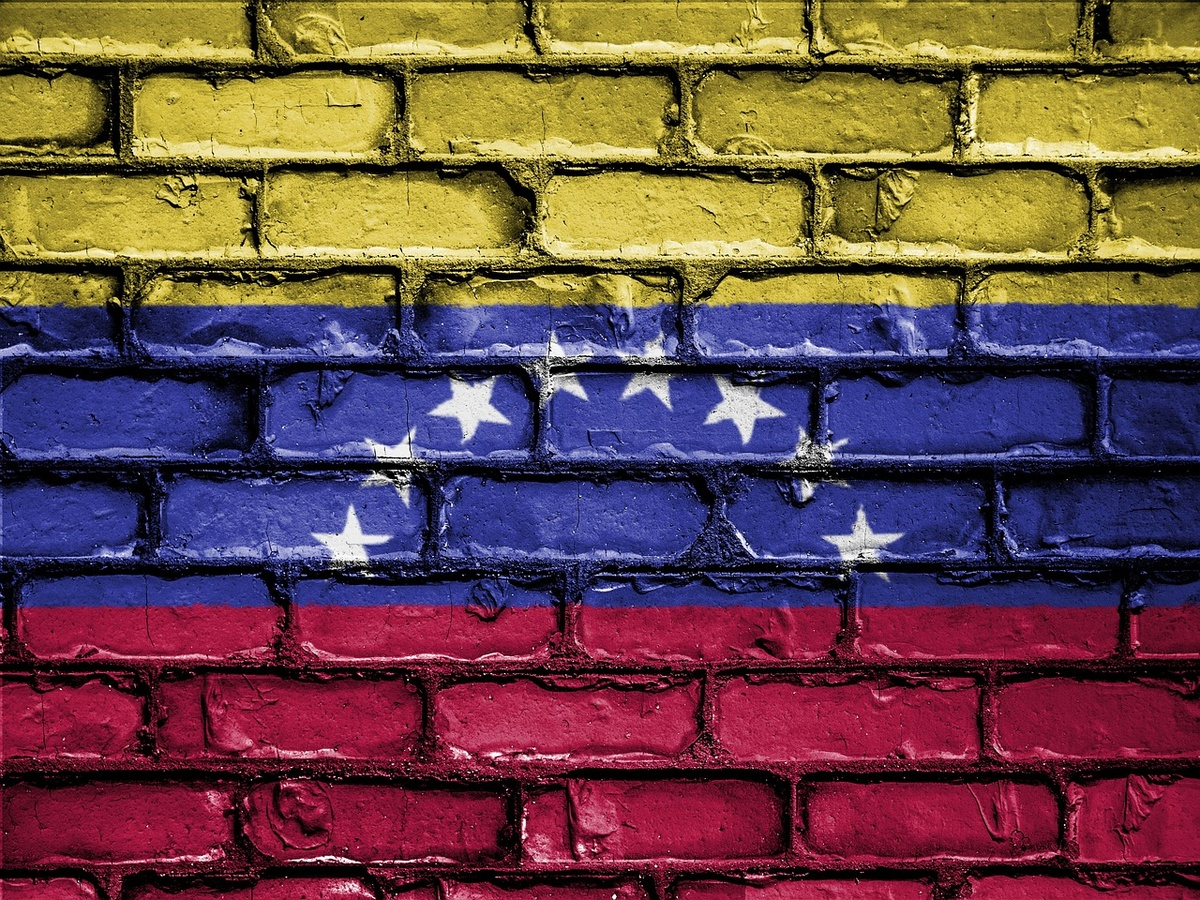 Die Nationalfarben Venezuelas. (Foto: gem)